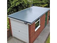 We build flat roofs