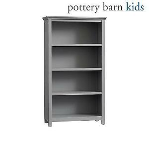 NEW CAMERON 4 SHELF BOOKCASE 4675786 222138027 POTTERY BARN KIDS CHARCOAL