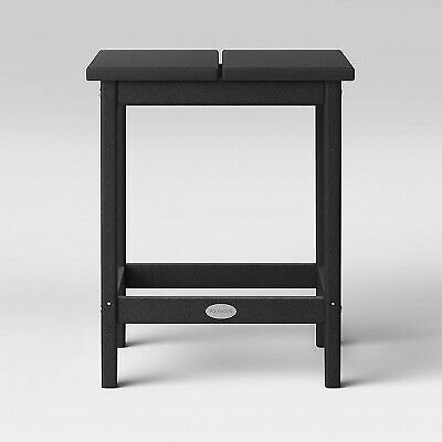 Moore POLYWOOD Patio Side Table - Black - Project 62