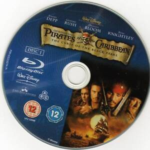 pirates of the caribbean.4 movies.blu-ray.