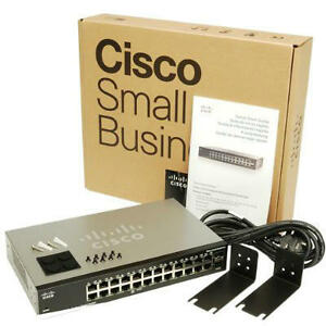 CISCO SG102-24-NA SG10224 COMPACT 24-PORT SWITCH BRAND NEW