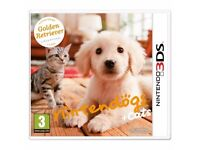 Nintendogs and Cats Golden Retriever and New Friends , nintendo 3ds , as new ! price stands !