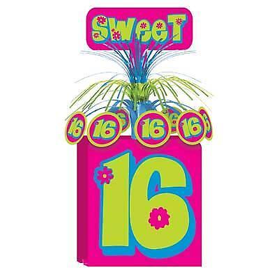 Sweet 16 Centerpiece - Sweet 16 Centerpiece