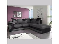 FASTER Dilivery - umboo CORDFabric Sofa BIG seats BEAUTIFUL - - LARGE Seats CORNER OR 3+2 Seater