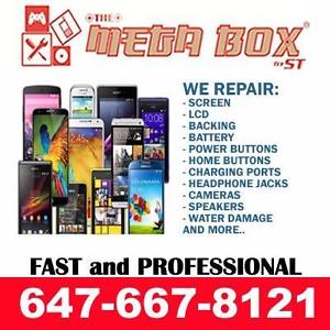 iPHONE SAMSUNG SAME DAY REPAIR; GALAXY S9 S7 S7E S6 S6E S5 S4 S3 NOTE 5 4 3 2 iPHONE X 8 7 6/6S SE 5S 5C 5 BROKEN SCREEN