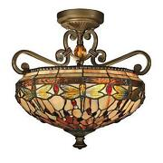 Flush Ceiling Light Crystal