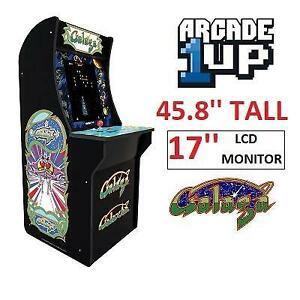 NEW RED PLANET GALAGA ARCADE GAME 7031 248031794 ARCADE 1UP GALAXIAN MACHINE CABINET