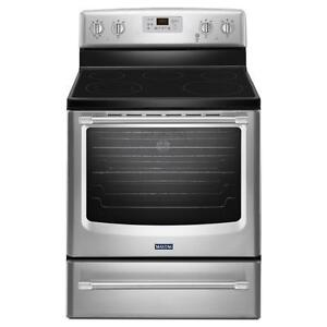Maytag YMER8700DS Electric Range, 6.2 Cu.Ft, Aqualift Self Clean