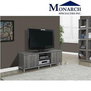 NEW MONARCH TV STAND DARK TAUPE - 60''L 102471429