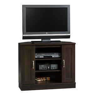 Brand New In Box Sauder Espresso Corner TV Stand - Espresso ----