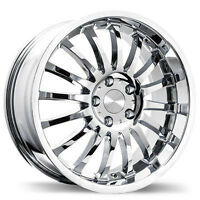 "CHROME WHEEL MAG JANTE 18"" 5X112 AUDI VOLKS MERCEDES NEW SPECIAL"