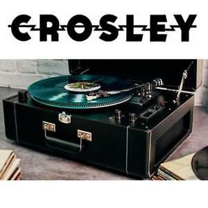 NEW CROSLEY PORTABLE TURNTABLE - 125208137 - KEEPSAKE DELUXE STEREO VINTAGE RECORD PLAYER VINYL