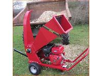Titan Pro Beaver 1500 Petrol Chipper Shredder Heavy Duty