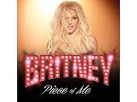 Britney Spears tickets x2 London
