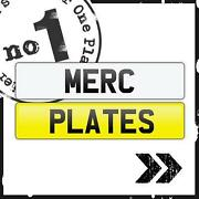 Mercedes Number Plate Surround