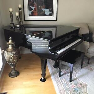 Baby Grand Piano, Young Chang, 6'1 size, LIKE NEW Windsor Region Ontario image 2