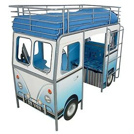 Child's Blue Campervan bed
