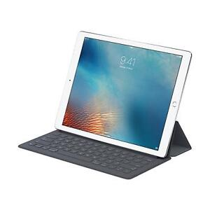 New iPad Pro 12.9 128GB Silver with Apple Smart Keyboard cover
