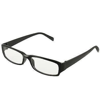 black rectangle frame glasses ebay