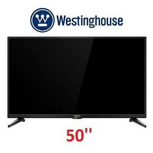NEW OB WH 50'' SMART LED TV - 117573615 - WESTINGHOUSE WD50UK4550
