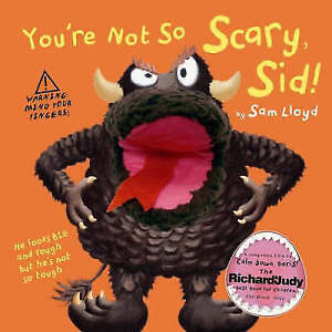"""""""VERY GOOD"""" You're Not so Scary Sid, Sam Lloyd, Book"""