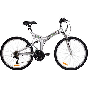 STOWABIKE-26-FOLDING-DUAL-SUSPENSION-MOUNTAIN-BIKE-18-SPEED-SHIMANO-BICYCLE-NEW