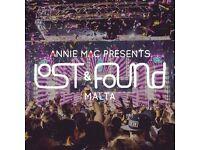 Annie Mac Presents Lost & Found Festival Ticket Malta