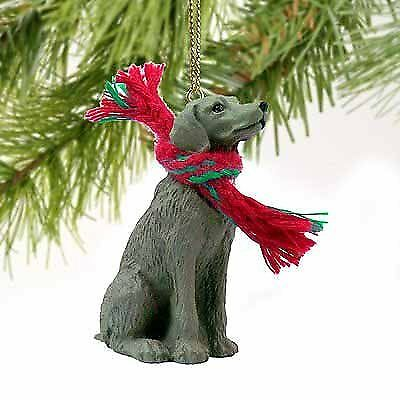 Weimaraner Miniature Dog Ornament