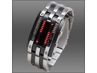 Storm men's binary watch