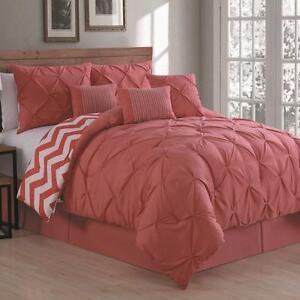 Ella Avondale Manor 7 Piece Comforter Set (KING) NEW