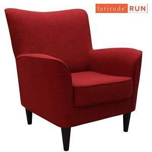 NEW LATITUDE RUN RED LOUNGE CHAIR - 115691705 - MILPERRA