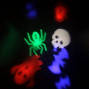 Halloween - LED Laser Pattern Card Projector - Xmas - NEW