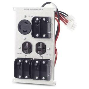 NEW APC Symmetra LX/RM - 208/240V Backplate Kit with (2) 6-20R & (1) L6-30R - SYPD12