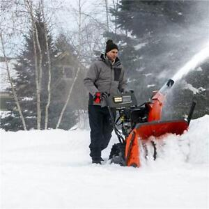Husqvarna ST327T Track Snowblower Scratch N Dent SALE on now @ DSR!