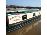 """58' Semi Trad Narrowboat """"Rowington"""" 1/12th Share for Sale NOW REDUCED TO £1400"""