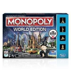 Monopoly Here & Now: World Edition board game (unopened)