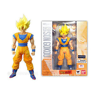 "Bandai Tamashii Nations Super Saiyan Son Goku ""Dragonball Z"" S.H"
