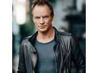 2 sting tickets. 7th April Manchester.