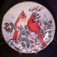 "Hamilton ""garden song"" collector plates.."