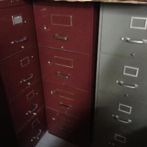 Filières a vendre 4-tiroirs/4-drawer Filing cabinets for sale