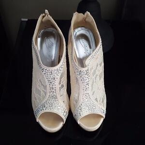 Wedding Shoes and After Wedding shoes too! - Size 7.5 - NEW Cambridge Kitchener Area image 4