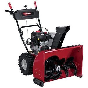 Sears Craftsman snowblower New Condition Service 780-710-3353