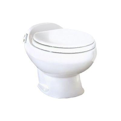 Thetford 19771 RV Aria Deluxe II China Toilet High Profile Push Button Flush