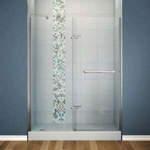Maax Glass and Chrome Shower door