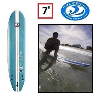 NEW CBC 7' SOFT SURFBOARD - 125177194 - CALIFORNIA BOARD COMPANY KEEPER SPORTS
