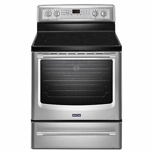 Poêle stainless Maytag modèle YMER8850DS