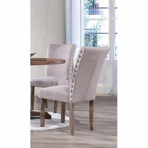 Carey Side Chair by BestMasterFurniture NEW (SET OF 4)