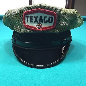 Vintage Texaco Attendant Hat and Overalls