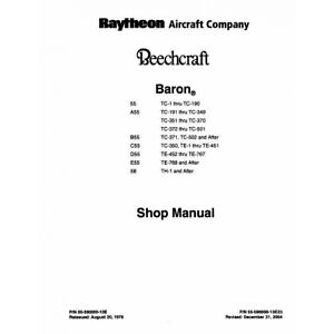 Beechcraft-Baron-55-A-B-C-D-E-55-58-Shop-Manual