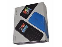 BRAND NEW BOXED NOKIA 105 UNLOCKED MOBILE PHONE IN BLACK COLOUR; SINGLE AND DOUBLE SIM AVAILABLE